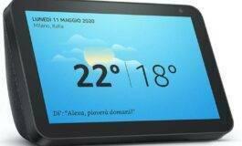 Amazon Echo Show 8, debutto in Italia ad un prezzo scontato