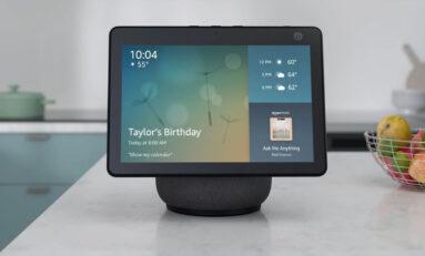 Amazon presenta il nuovo Echo Show 10 disponibile ad Aprile