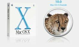 Mac OS X compie 20 anni