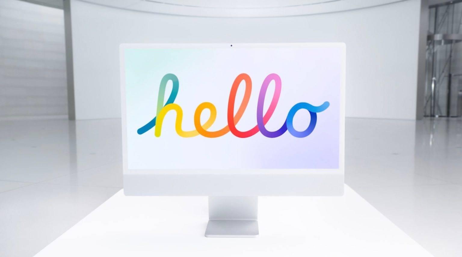 Apple presenta i nuovi iMac, design rinnovato e ben 7 colori diversi