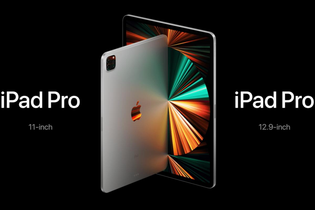 Apple presenta iPad Pro 2021 con chip M1 e display miniLED