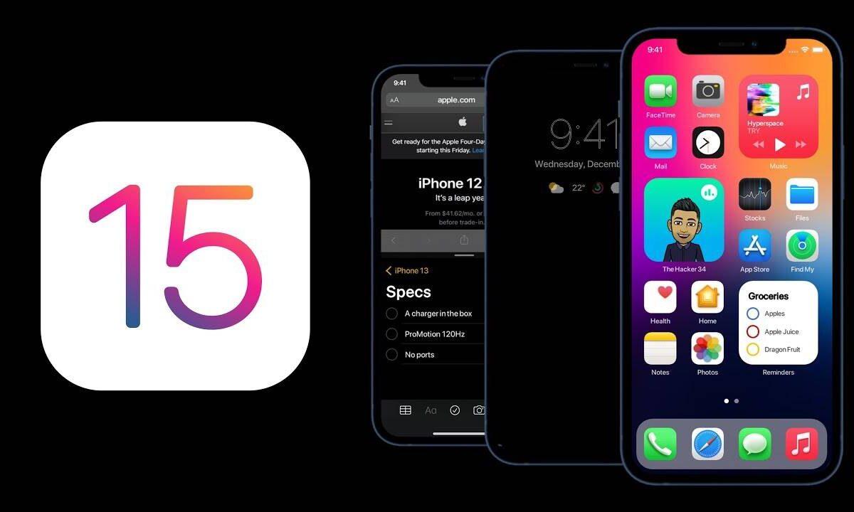 iOS 15 – Apple aggiunge nuovi widget